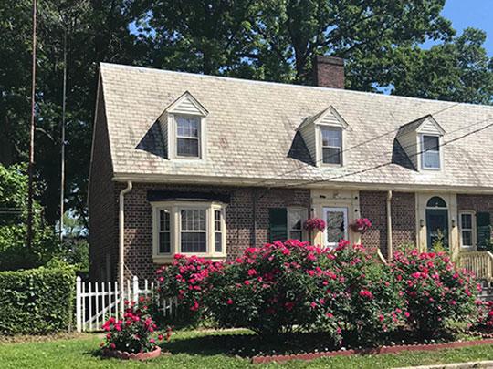 Row Homes on Burnham Street, Seaside Village Historic District, Bridgeport, CT, National Register