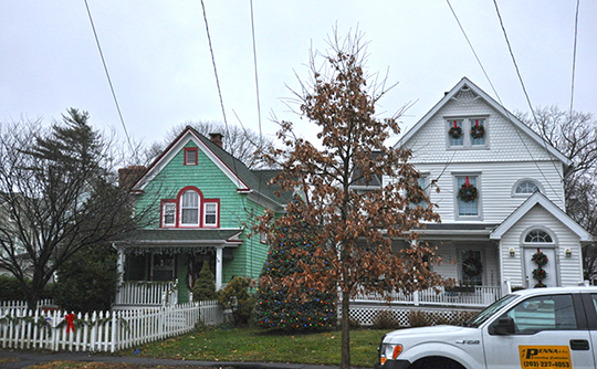Homes in the Fourth Ward Historic District, Greenwich, CT, National Register