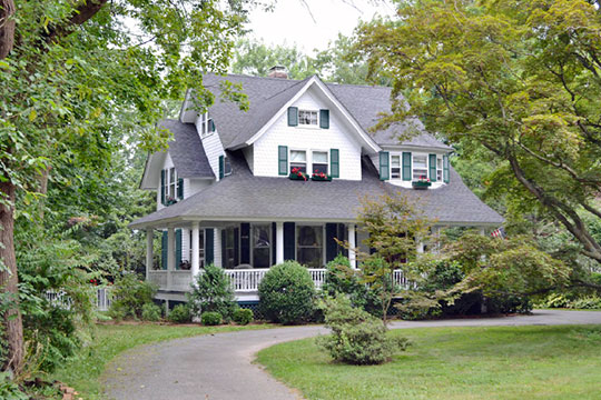 Home on Mead Avenue, ca. 1901, River Road-Mead Avenue Historic District, Greenwich, CT, National Register