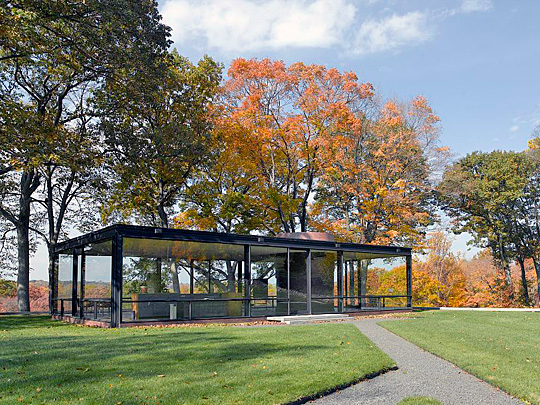 Philip Johnson's Glass House, New Canaan, CT