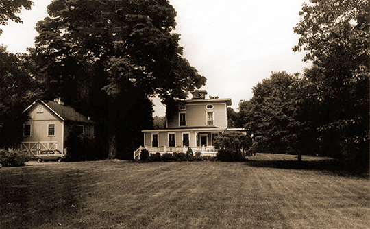 Aaron H. Davis House, ca. 1860, 18 Church Street, Georgetown Historic District, Georgetown, CT, National Register