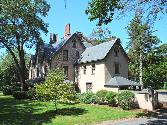 Perkins-Clark House, ca. 1861, 9 Woodland Street, Hartford, CT, National Register