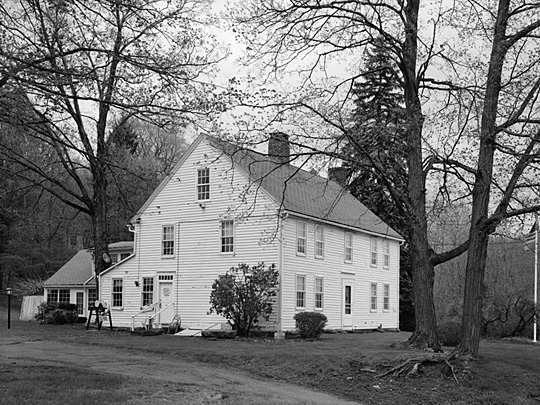 terry homestead,historic american buildings survey,habs ct-463,54 middle street,bristol,ct,circa 1748
