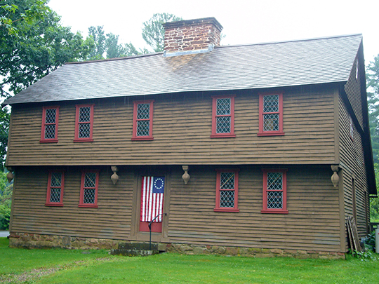 Stanley-Whitman House, National Historic Landmark, Farmington, Connecticut