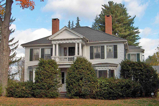 Home at 4 East Granby Road, Granby Center Historic District, Granby, CT, National Register