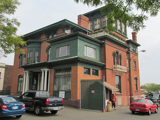 Lucius Barbour House, ca. 1865, 130 Washington Street, Hartford, CT, National Register