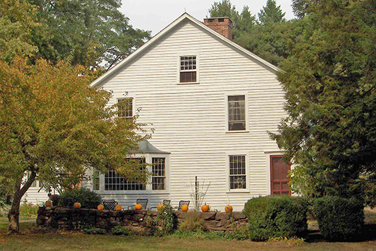 John Terry House, ca. 1780, Terry's Plain Historic District, Simsbury, CT, National Register
