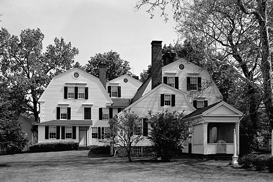 Burbank-Hathaway House, Main Street, Suffield, Harford County, CT, Historic American Buildings Survey [HABS CT-240]