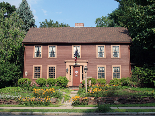Asa Gillett House, ca. 1760, 202 South Main Street, West Hartford, CT, National Register