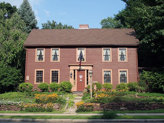 Asa Gillett House, ca. 1760, 202 South Main Street, West Hartford, CT, National Register