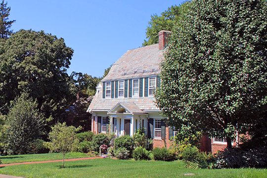 Home in the West Hill Historic District, West Hartford, CT, National Register