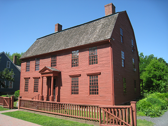 Joseph Webb House, ca. 1752, 211 Main Street, Wethersfield, CT, National Register