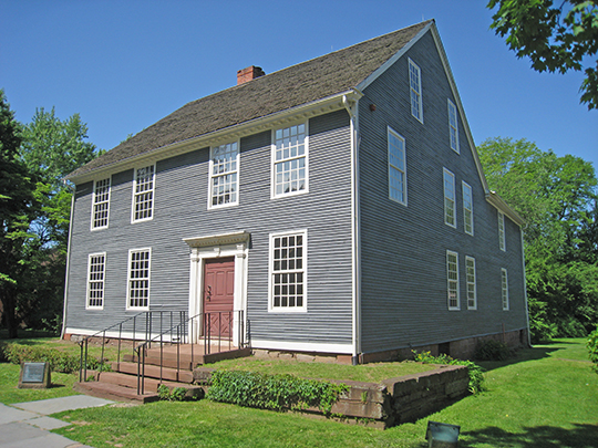 Silas Deane House, ca. 1766, 203 Main Street, Wethersfield, CT, National Register