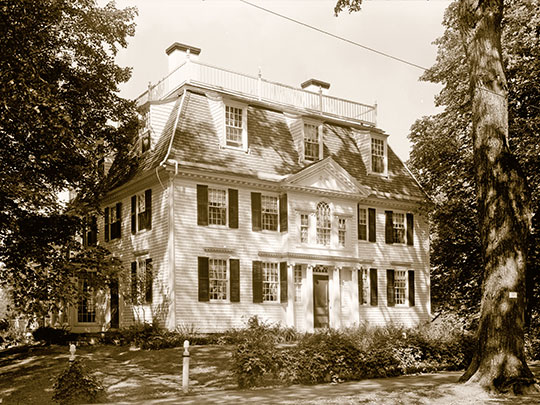 Elisha Sheldon House, ca. 1760, North Street, Litchfield, CT.