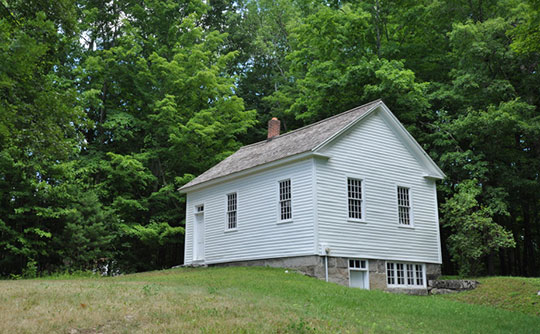 Home in the Barkhamsted Center Historic District, Barkhamsted, CT, National Register
