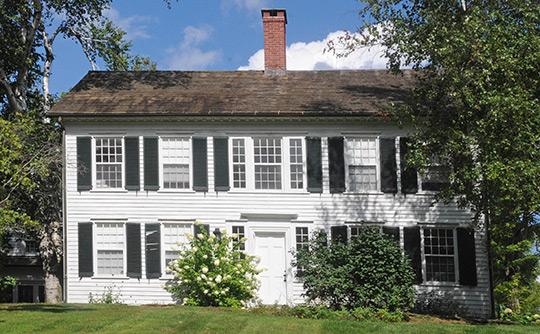 Francis Benedict Jr. House, ca. 1795, 85 North Colebrook Rd, Colebrook, CT, National Register
