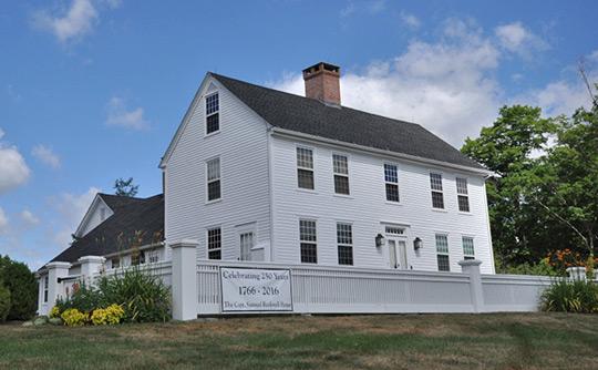 Captain Samuel Rockwell House, ca. 1766, Colebrook Road, Colebrook Center Historic District, Colebrook, CT, National Register