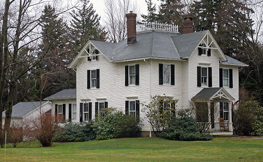 Home on South Street, Litchfield Historic District, Litchfield, CT, National Register