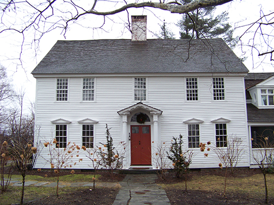 Oliver Wolcott House, ca. 1753, Litchfield, Connecticut, National Historic Landmark