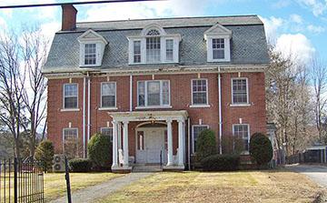 Pease House, Migeon Avenue, Migeon Avenue Historic District, Torrington, CT, National Register