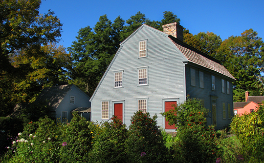 Glebe House, 49 Hollow Road, Woodbury, CT, National Register