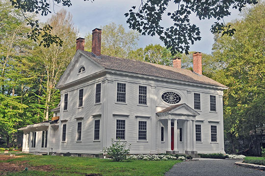 Dr. Ambrose Pratt House, ca. 1820, Pratt Street, Chester, CT, National Register