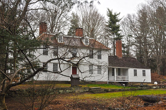 Thomas Lyman House, ca. 1775, 05 Middlefield Road, Durham, CT, National Register