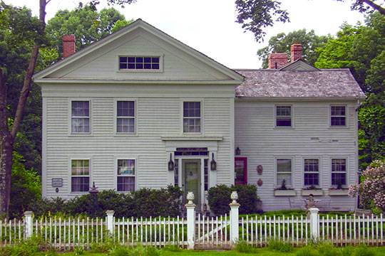 Home at Tater Hill and Millington Roads, Millington Green Historic District, East Haddam, CT, National Register