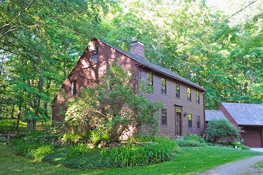 Daniel F. Fuller House, ca. 1760, 150 Wickham Road, Wickham Road Historic District, East Haddam, CT, National Register