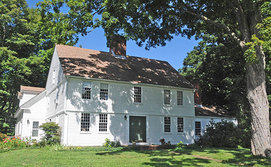 Joseph Wilcox House, ca. 1774, 227 Atkins Street, Highland Historic District, Middletown, CT, National Register