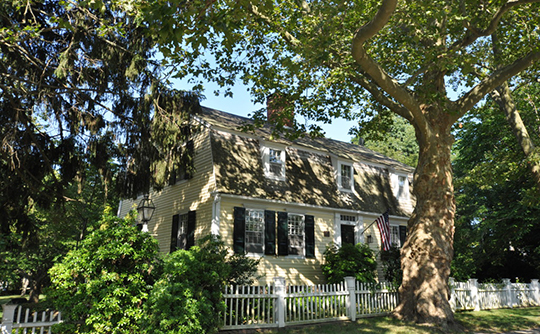 Bushnell-Dickinson House, ca. 1790, 170 Old Post Road, Old Saybrook, CT, National Register