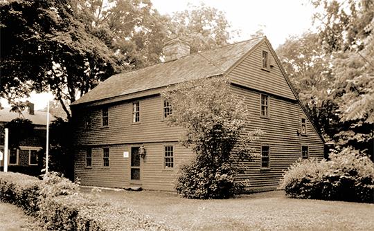 Nathaniel Harrison House, ca. 0000, Main Street, Canoe Brook Historic District, Branford, CT, National Register