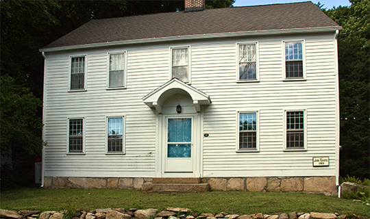 John Rogers House, ca. 1765, 690 Leete's Island Road, Branford, CT, National Register
