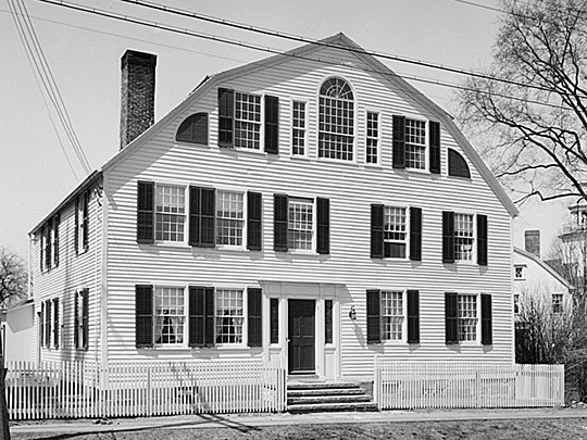 Abijah Beach Tavern, Main Street, Cheshire Historic District, National Register of Historic Places, Cheshire, CT