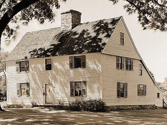 Confort Starr House, ca. 1645, Town of Guildford, New Haven County CT