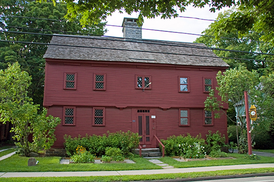 Hyland-Wildman House, ca. 1713, 84 Boston Street, Guilford, CT, National Register