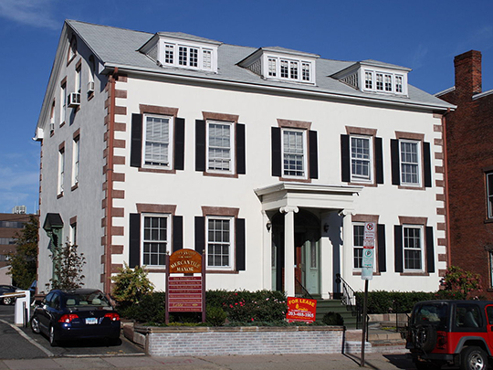John Cook House, ca. 1807, 35 Elm Street, New Haven, CT, National Register
