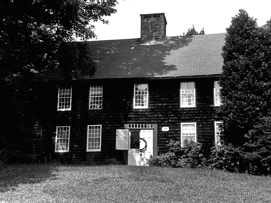 samuel eells house, north street, north branford, new haven county, ct, 06471