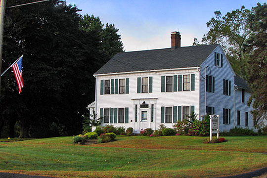 David Hotchkiss House, ca. 1819, 61 Waterbury Road, Prospect, CT, National Register