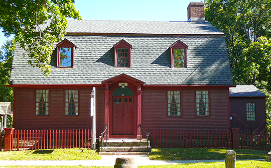 Franklin Johnson House, ca. 1770, 153 South Main Street, Wallingford, CT, National Register