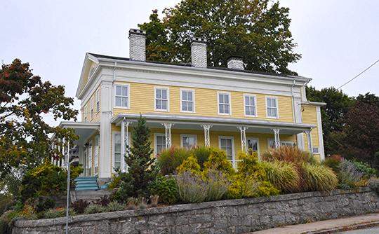 John O. Arnold House, ca. 1847, 5 Granite Street, New London, CT, National Register
