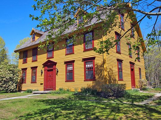 Colonel Joshua Huntington House, ca. 1771, 11 Huntington Lane, Norwich, CT, National Register