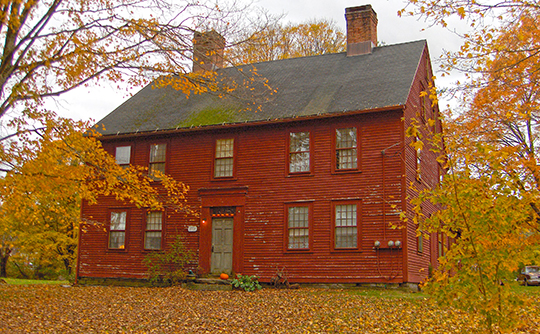 Circa 1773 home (former White's Tavern), 131 U.S. Route 6, Andover, CT, National Register
