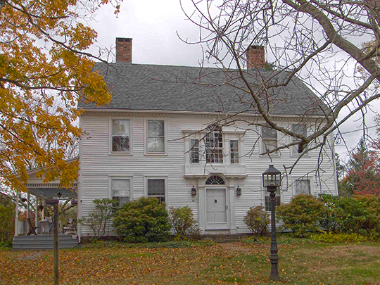 Jared Cone House, ca. 1770, 25 Hebron Road, Bolton, CT, National Register