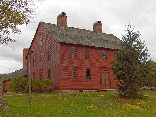 Nathan Hale Homestead, ca. 1777, 2299 South Street, Coventry, CT, National Register