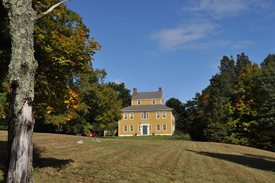 Benjamin Bosworth House, ca. 1791,  John Perry Road, Eastford, CT, National Register