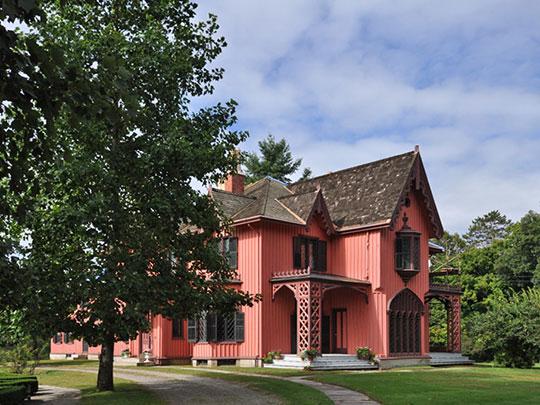 Henry C. Bowen House (Roseland Cottage), ca. 1846, Route 169, Woodstock, CT.