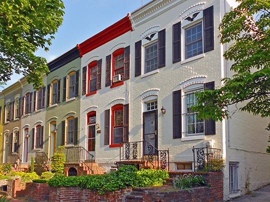 Row Houses in the Foggy Bottom Historic District, Washington, D.C., National Register