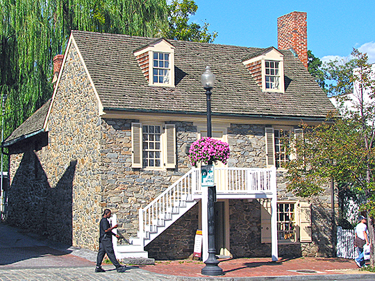 old stone house,national register,georgetown, washington dc,1765