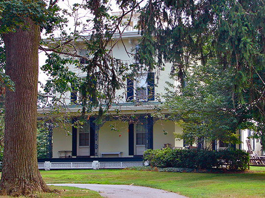Carpenter-Lippincott House, ca. 1840, 5620 Kennett Pike, Centreville, DE, National Register
